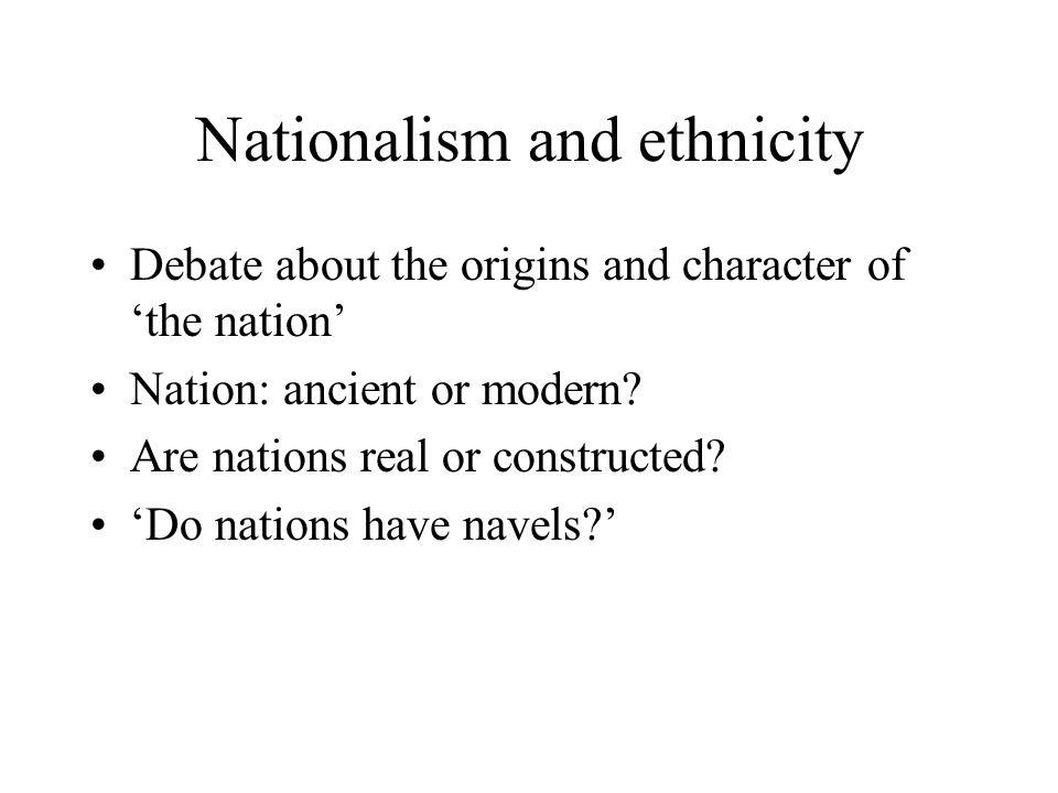 calhoun nationalism and ethnicity