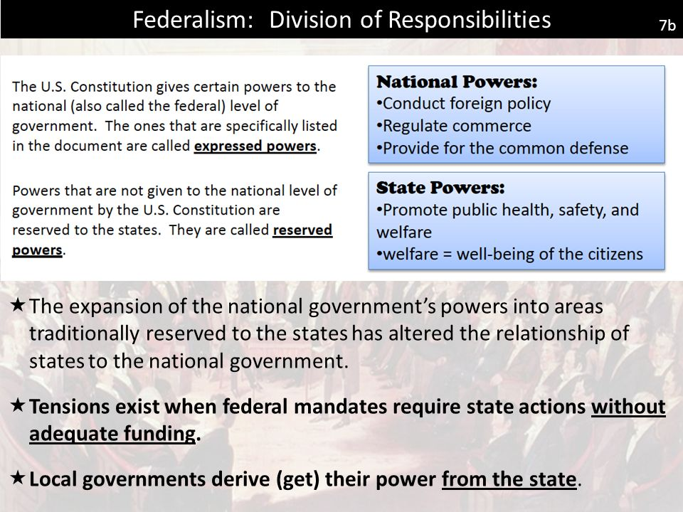 expansion of government power