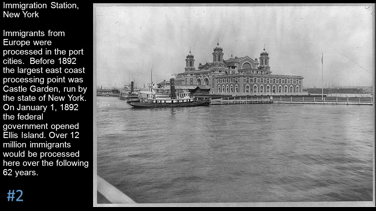 ellis island a new home for the immigrants Via an island of hope, a new home over a span of roughly 70 years, ellis island grew from an anonymous outcropping in new york.