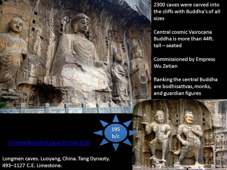 Chinese Buddhist Cave Shrines 4:35 Longmen caves. Luoyang, China.