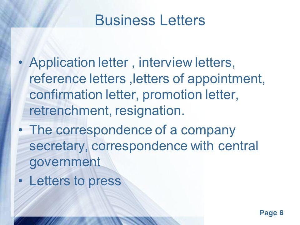 Page 1 business correspondance page 2 correspondence business page 6 business letters application letter interview letters reference lettersletters of appointment altavistaventures Gallery