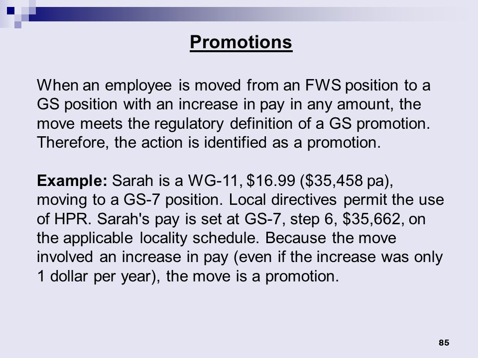 gs7 pay chart