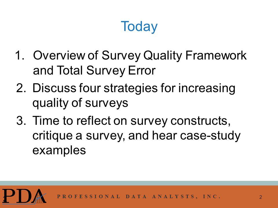 presentation survey examples