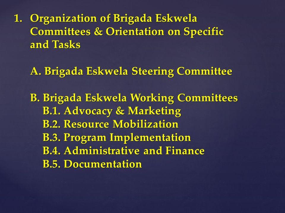 By amancio v doblon phd public schools district supervisor by organization of brigada eskwela committees orientation on specific and tasks a yadclub Gallery