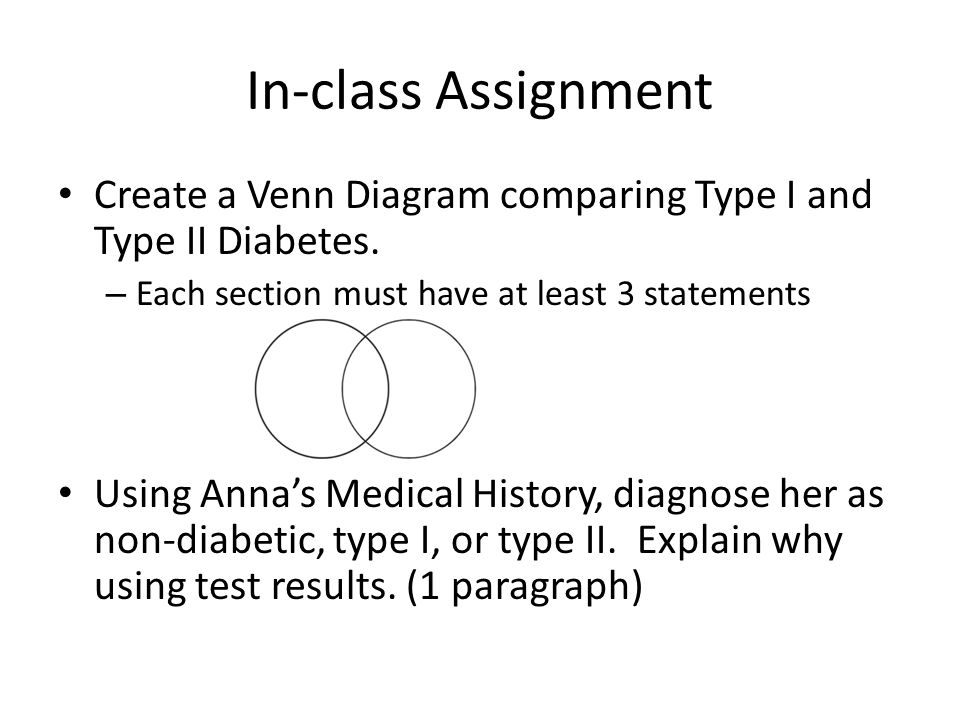 Venn Diagram Of Type 1 And 2 Diabetes Vatozozdevelopment