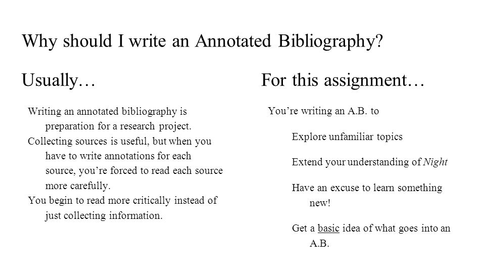 assignment 2 annotated bibliography