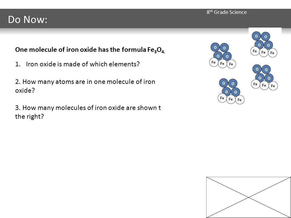 Periodic table what is iron oxide symbol on the periodic table 8 th grade science do now one molecule of iron oxide has the periodic table what is iron oxide symbol urtaz Gallery