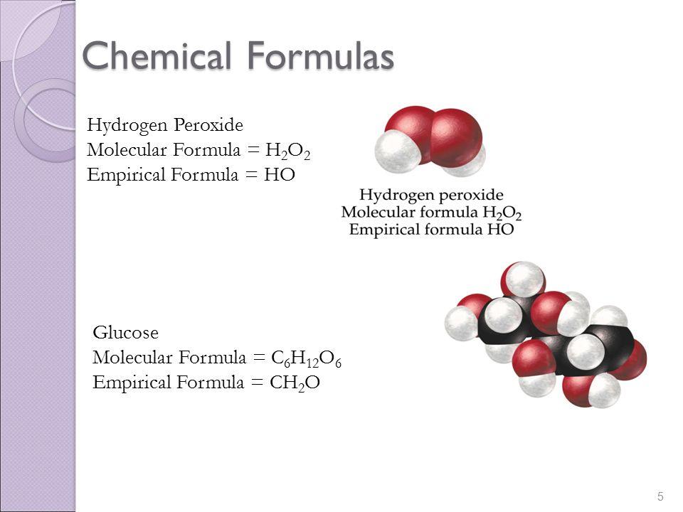 empirical chemicals a