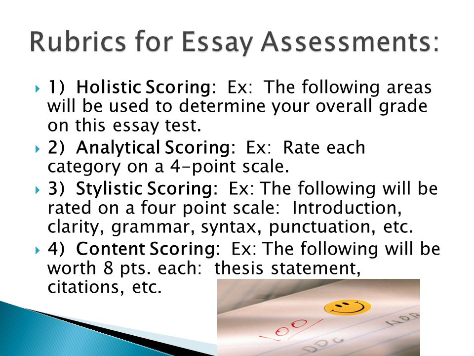 Write my essay analysis test