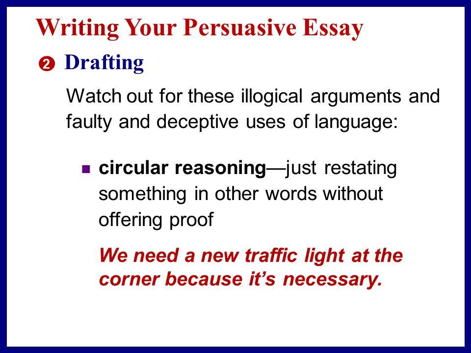 Already Written Persuasive Essays