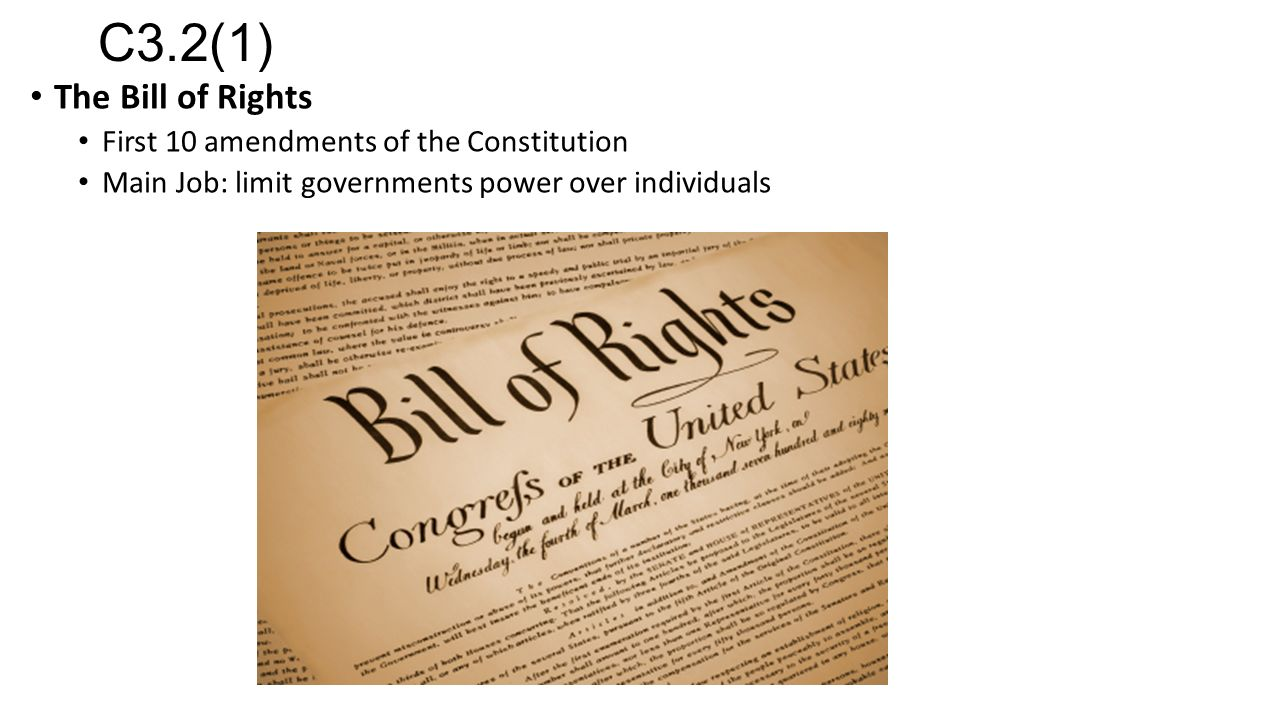the importance of the ability to amend the bills of rights in the united states constitution All bills for raising revenue shall originate in the enumeration in the constitution, of certain rights  to support the constitution of the united states.