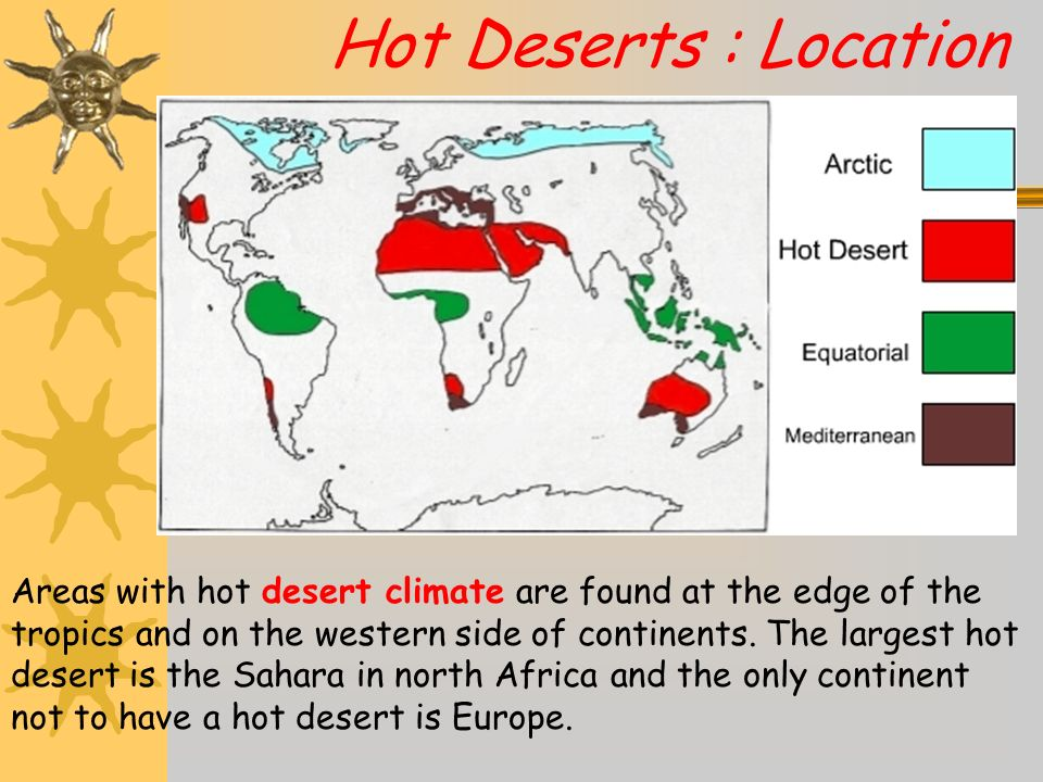 Hot Desert Climate Regions - ppt download