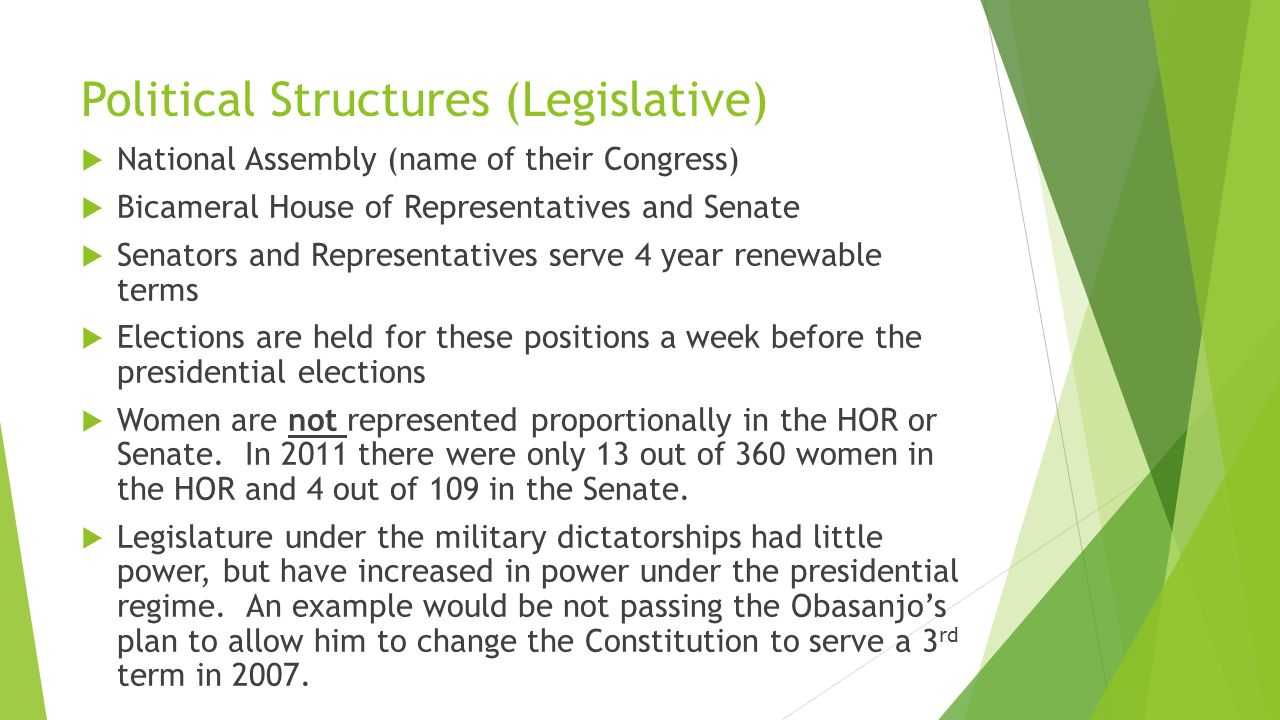 nigerian political institutions ap comparative government. - ppt