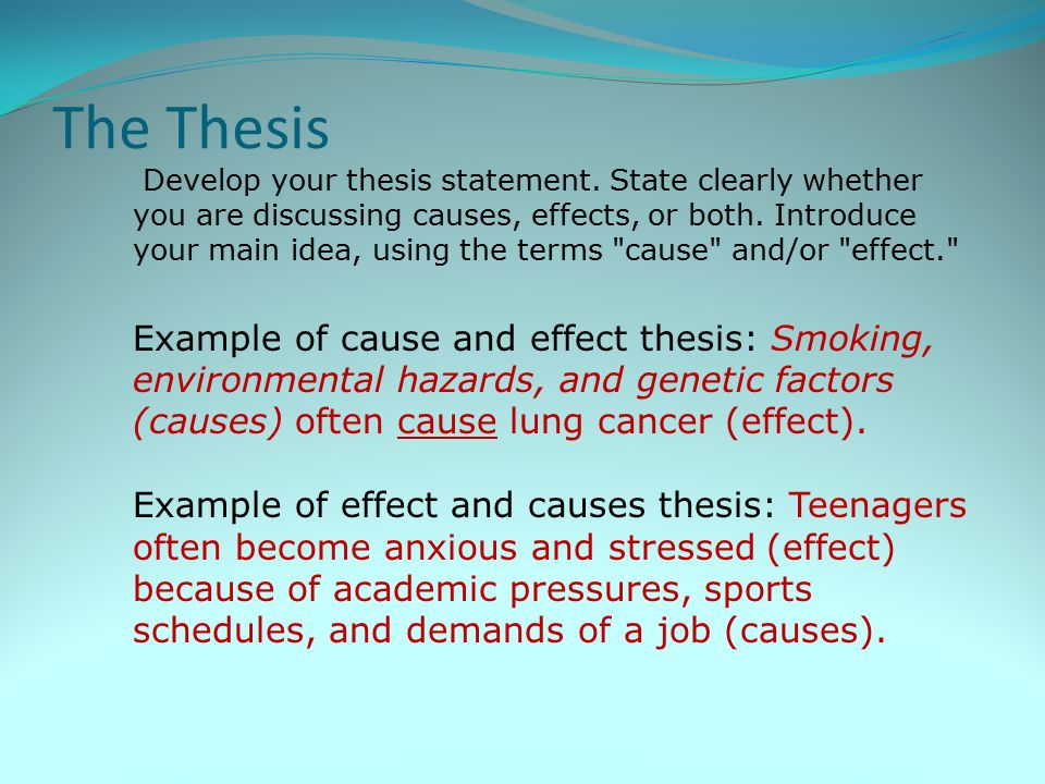 essays on cause and effect of stress Stress on college students essay writing service cause and effect stress on college students stress in one person may not cause stress in another.
