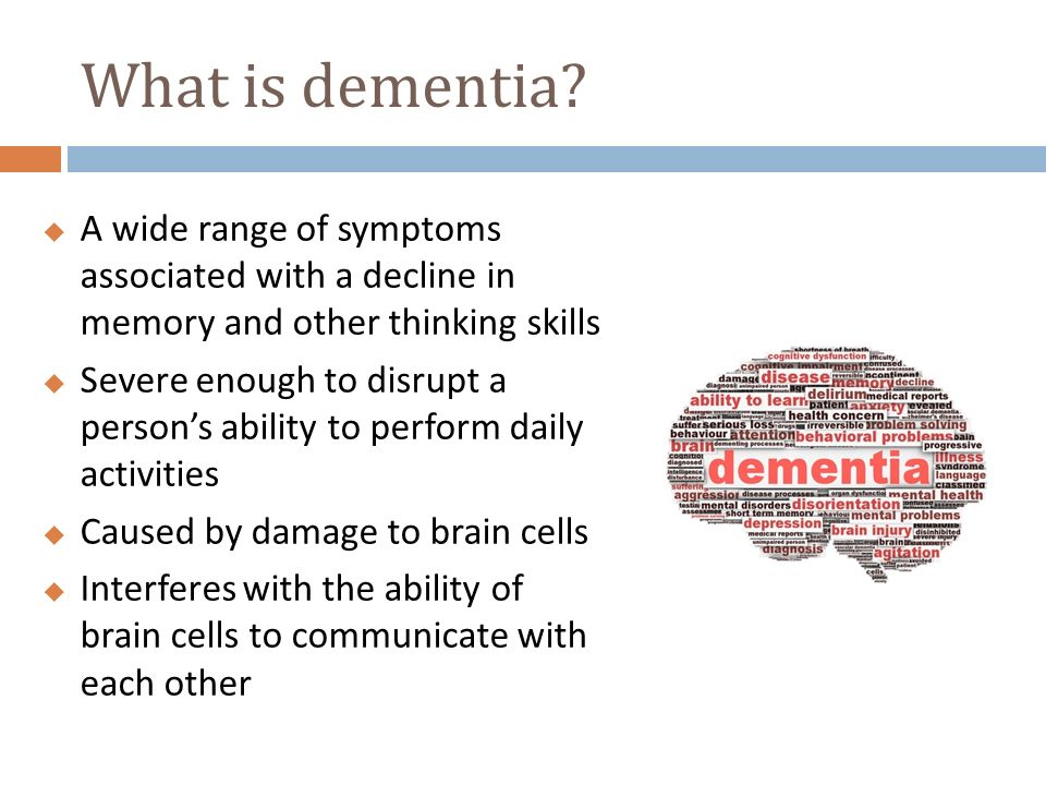 a range of causes of dementia syndrome essay 1 1 describe a range of causes of dementia syndrome there are several causes of dementia some of them are a stroke, brain disease, ms, certain medications, shrinkage of the brain, too many opiates over a long period of time and severe alcoholism.