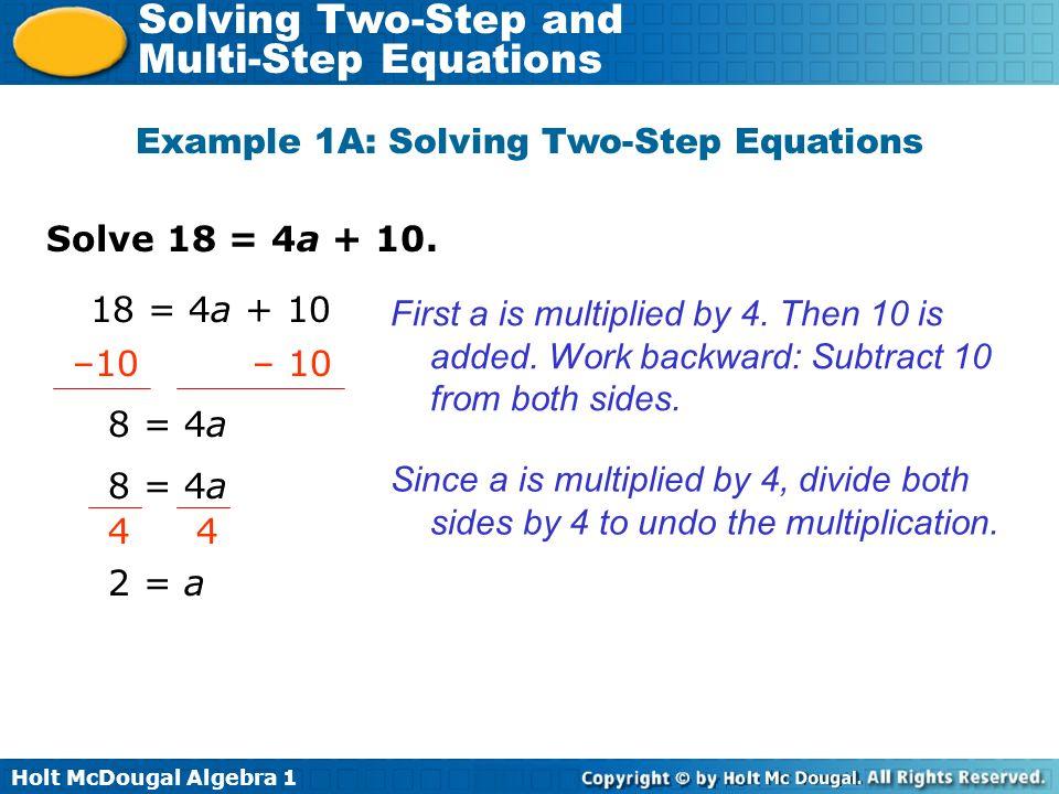 Multi Step Algebra Equations Worksheets – Multi Step Linear Equations Worksheet
