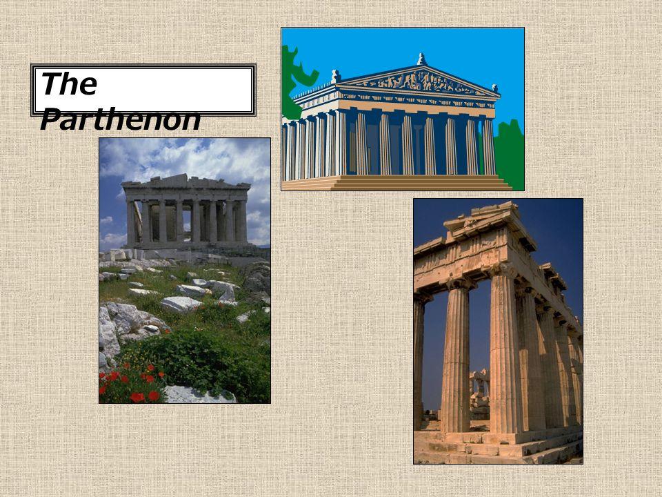 Greek Art Mr Boudman Chapter 8 Architecture Temples