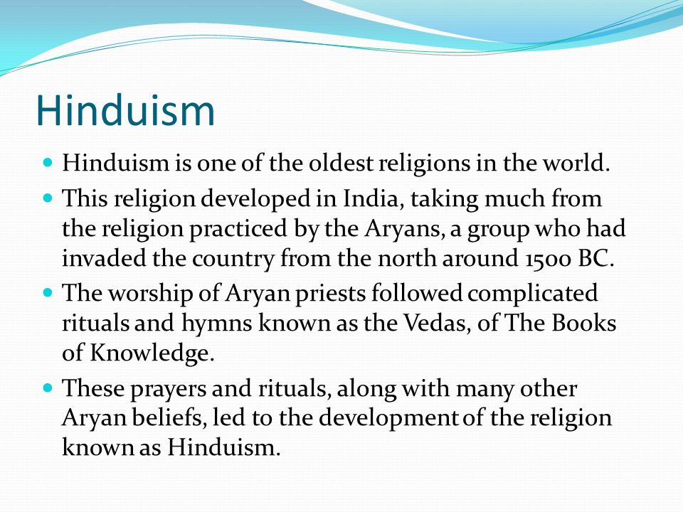 Hinduism Hinduism Is One Of The Oldest Religions In The World - How many hindus in the world