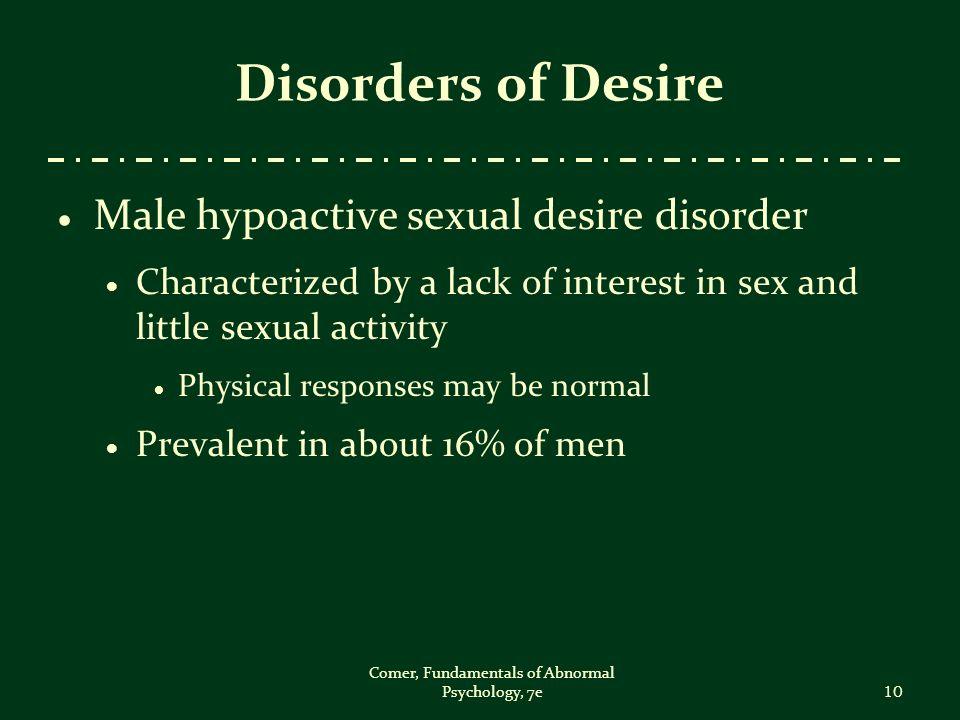 Abnormal psychology sex