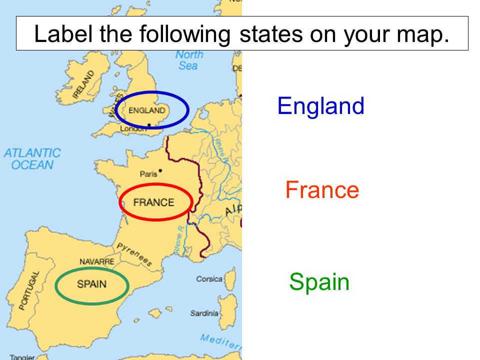 The world in ppt video online download 6 label the following states on your map england france spain gumiabroncs Images