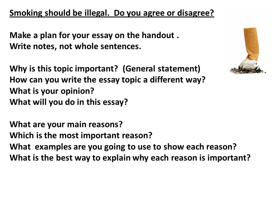 why do we write argumentative essays Although there is no set model of organization for argumentative essays explain how and why there may be other side of the issue or the opposing argument.