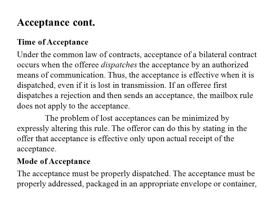 Chapter 10 Agreement and Consideration.. Introduction Contracts ...