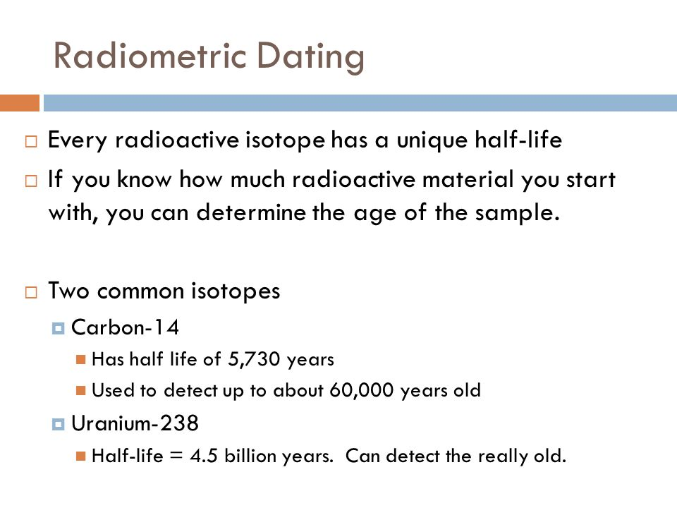 Radiocarbon hookup is only one radioactive isotope used for age hookup