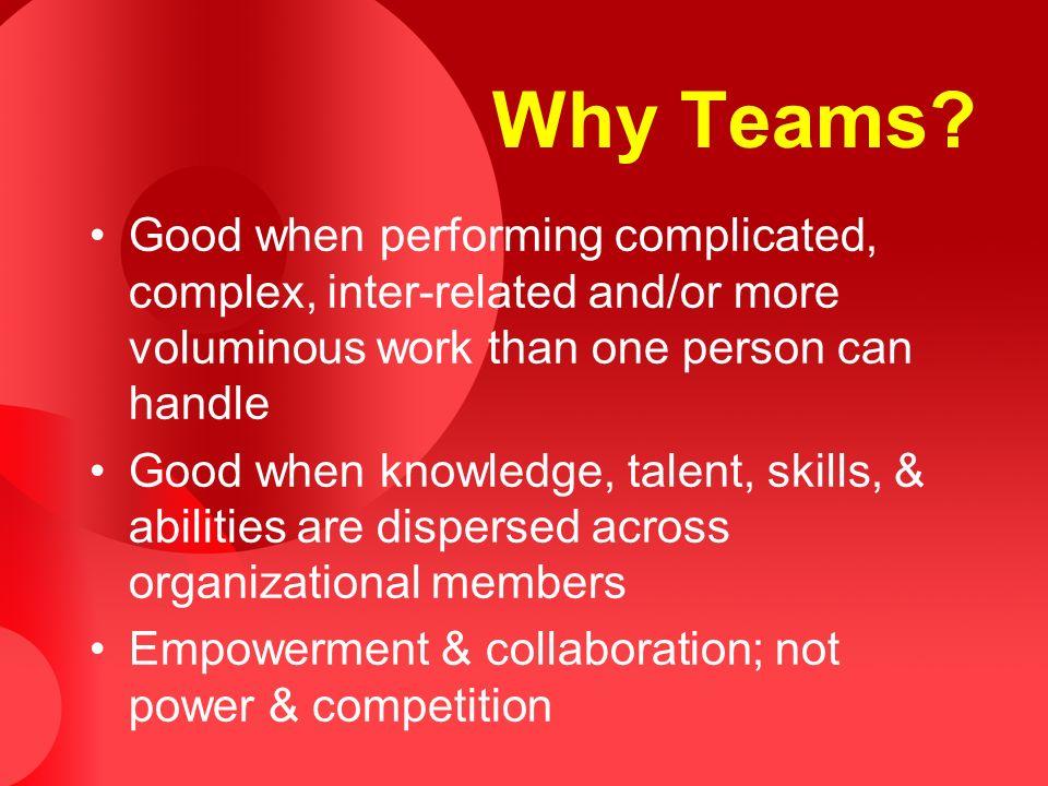 Why Teams.
