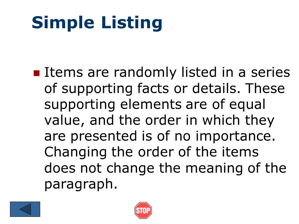 explore your topic simple listing items are randomly listed in a  2 explore your topic