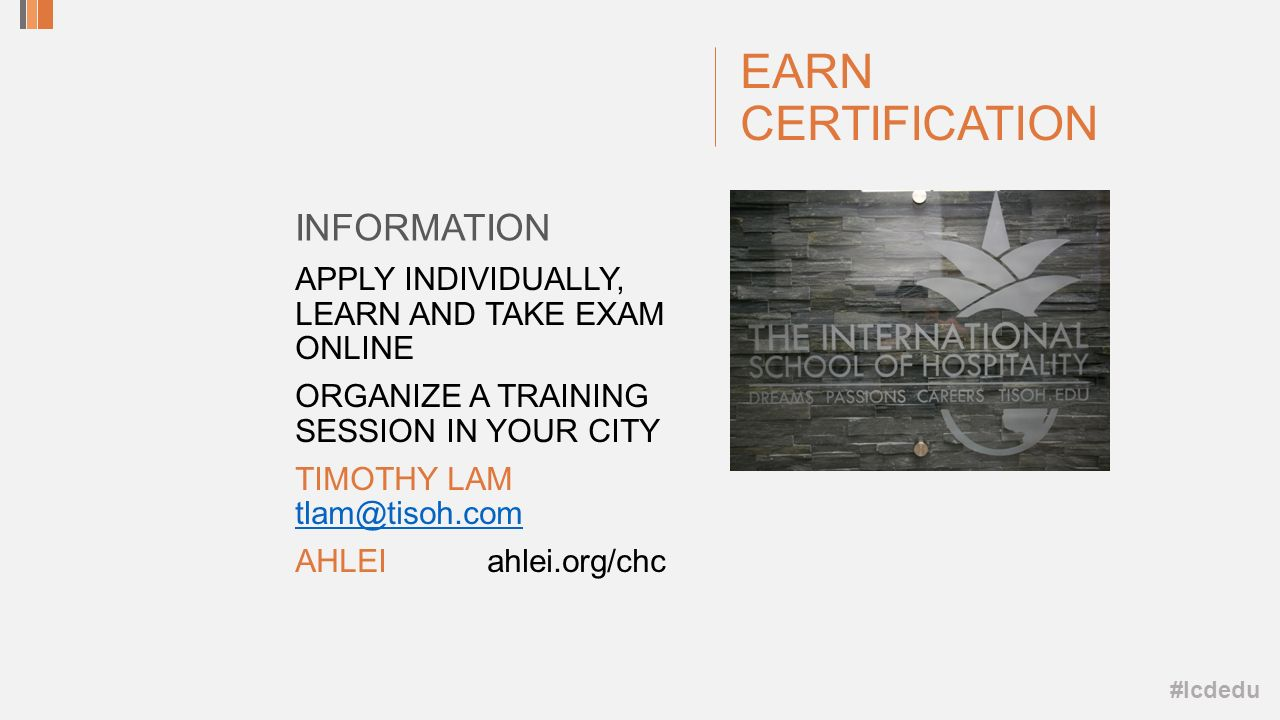 Hotel concierge competency study and certification 63 rd les clefs 23 lcdedu earn certification apply individually learn and take exam online organize a training session in your city timothy lam tlamtisoh xflitez Image collections