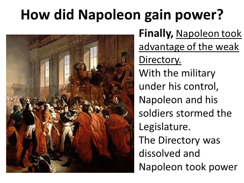 how far was napoleons rise to Brief essay on the foreign policy of napoleon bonaparte of france how far napoleon's empire was an instrument of peace napoleon tried his level best to.