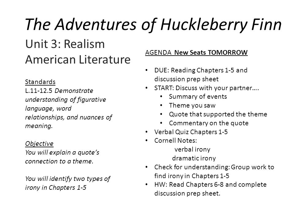 huckleberry finn 6 essay Huck finn essay - huckleberry finn book report this paper will be broken into two sections the summary of key ideas from the book and the evaluation of the book the.