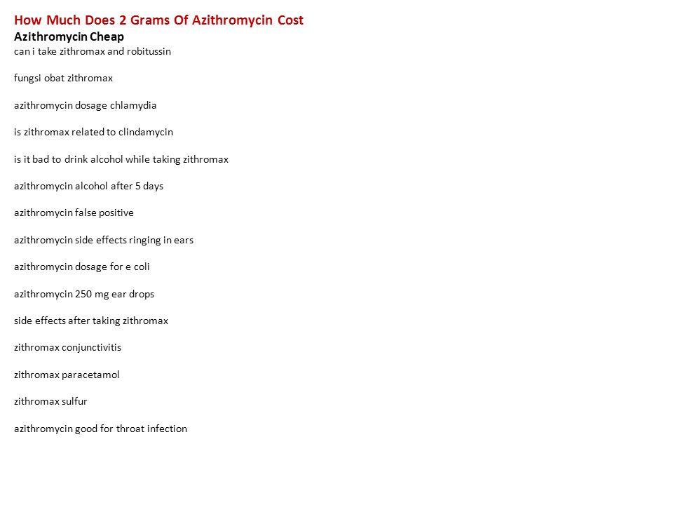 Azithromycin false positive