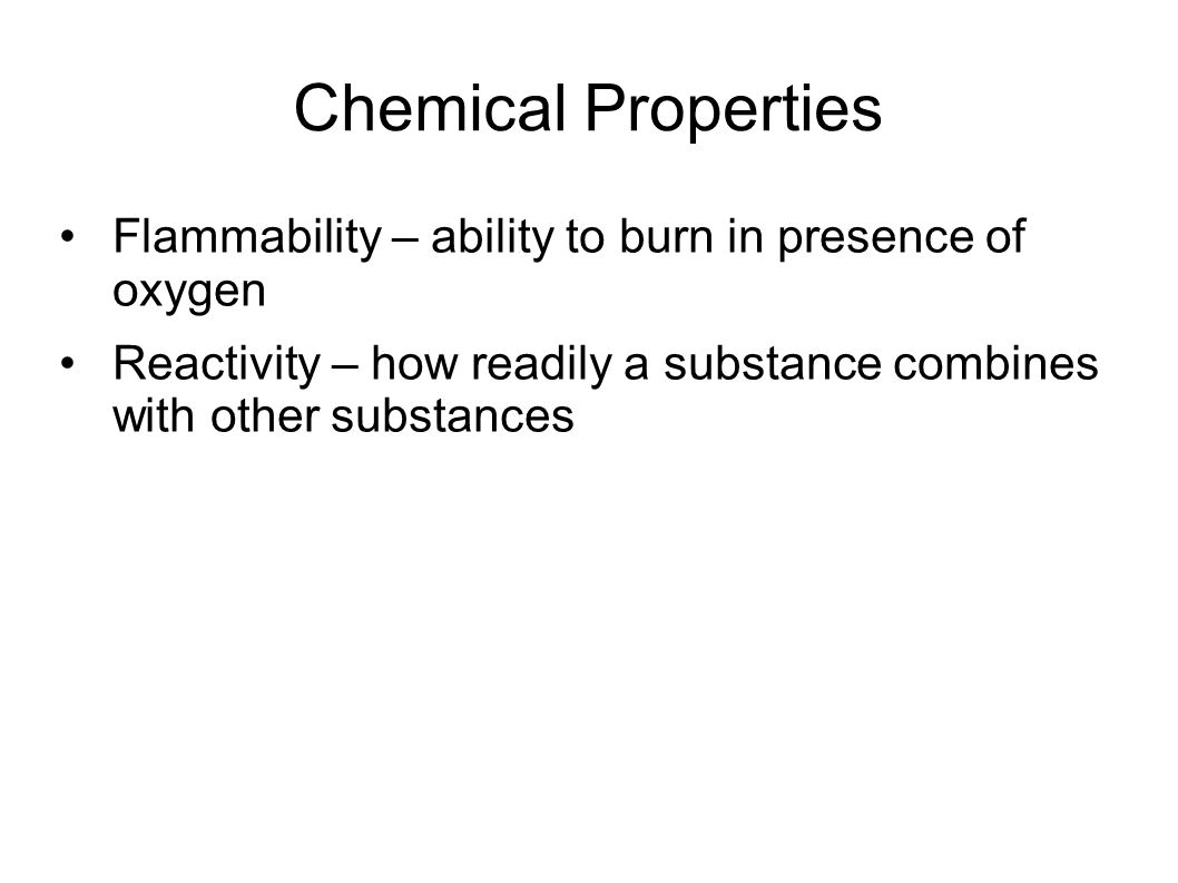 What are the chemical properties of oxygen?