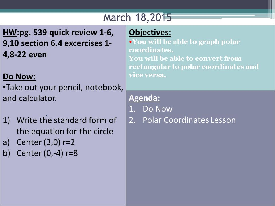 Hwpg 539 Quick Review 1 6 910 Section 64 Excercises 1 48 22
