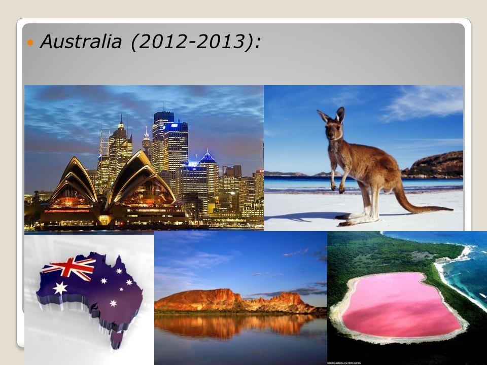 Australia (2012-2013):