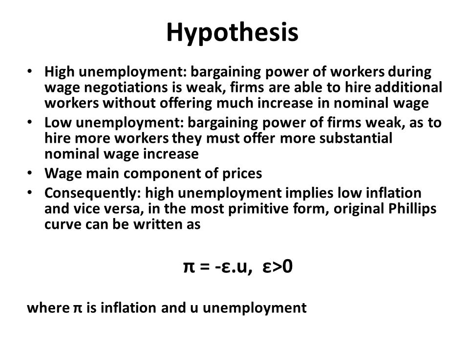 VII Neoclassical synthesis and monetarism economic policies of – Wage Increase Form