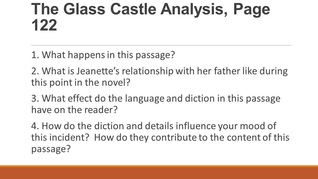The glass castle essay topics synthesis essay ideas