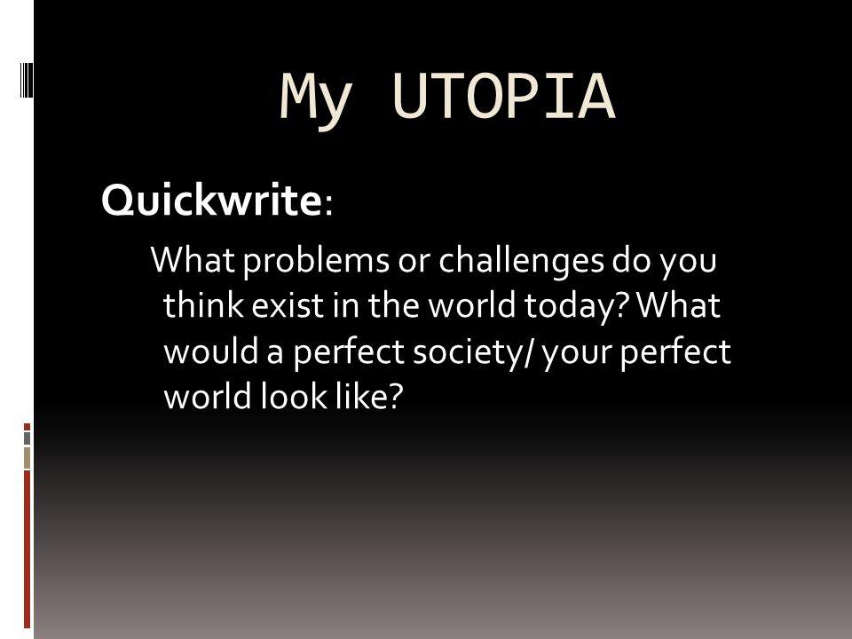 utopia essay