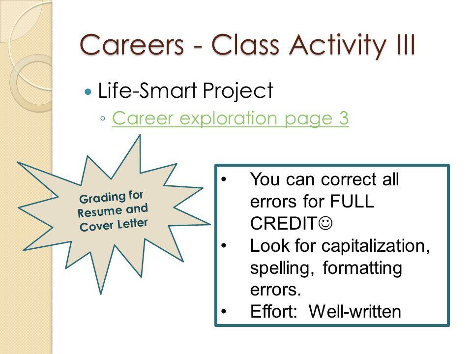 Pretty Resume Class Activity Photos - Example Resume Templates ...