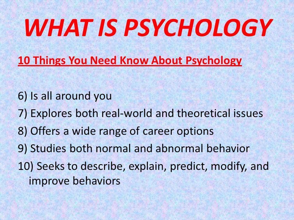 7 schools of psychology
