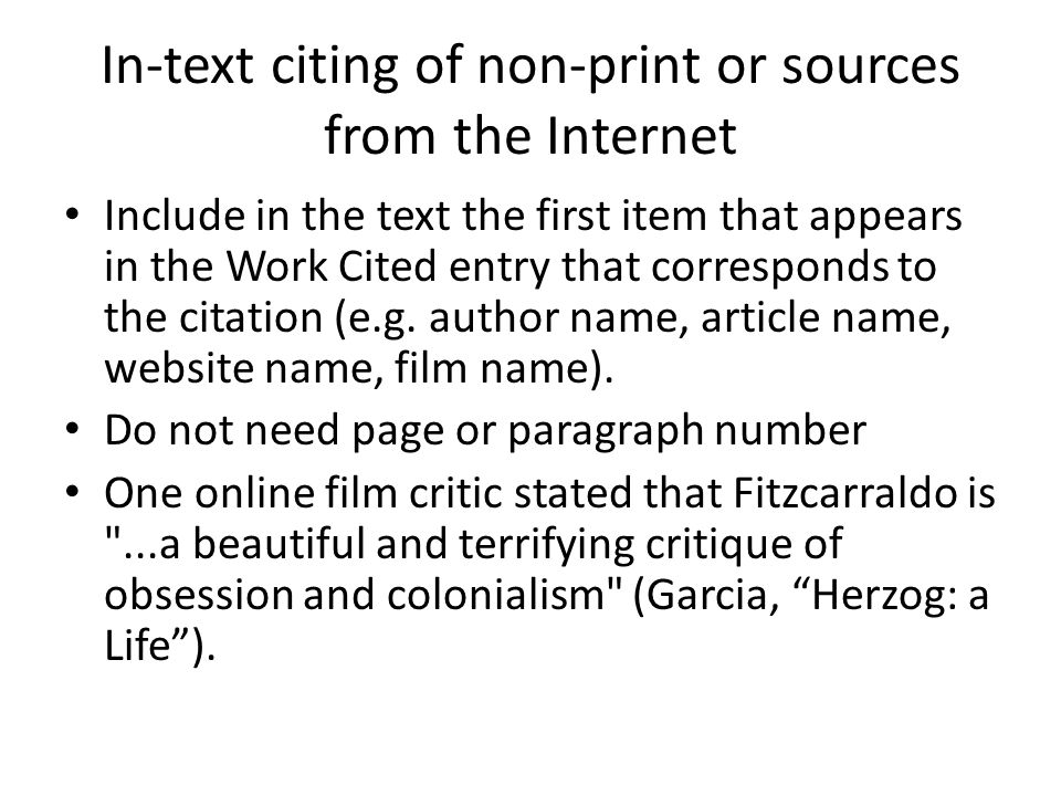 How To Do Citations In A Research Paper