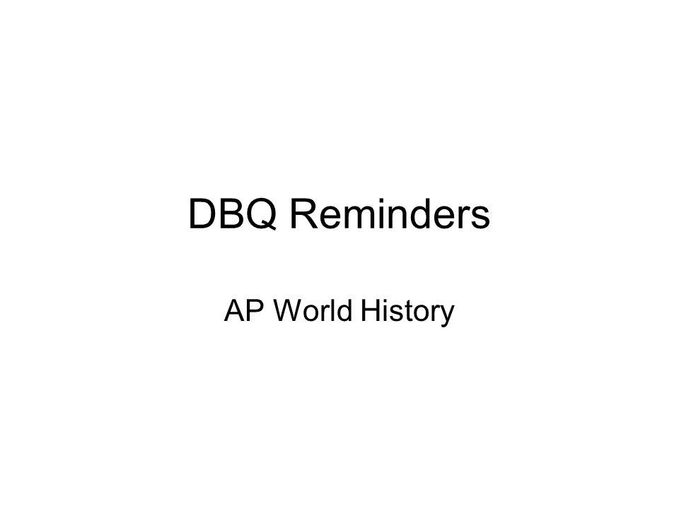 ap world history essay questions