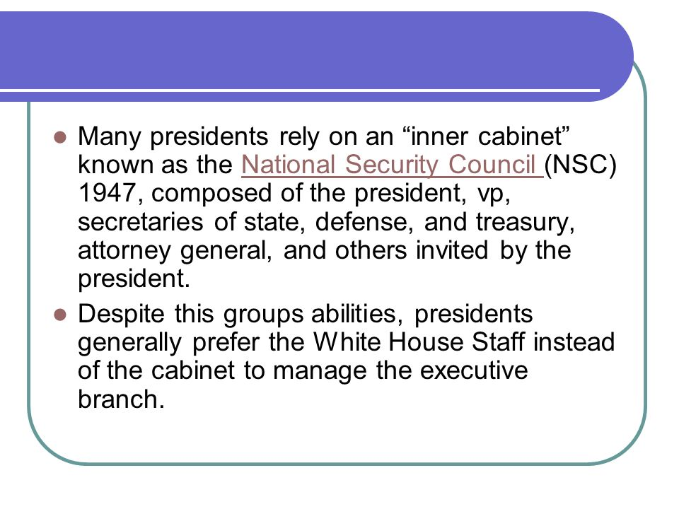 Inner Cabinet Definition Ap Gov - thesecretconsul.com
