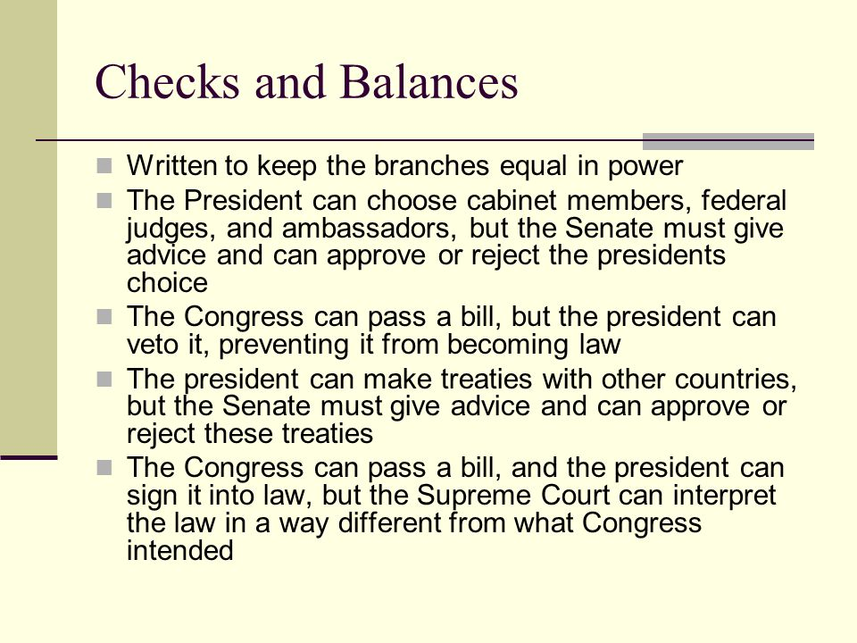 Chapter 3 The United States Government. Foundations of the U.S. ...