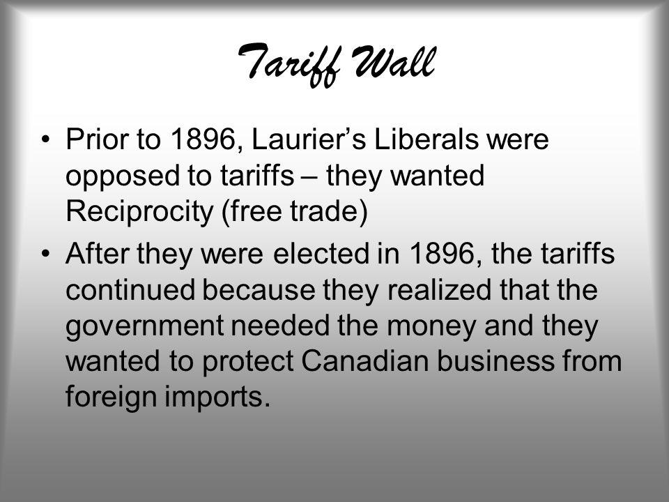 tariff reciprocity