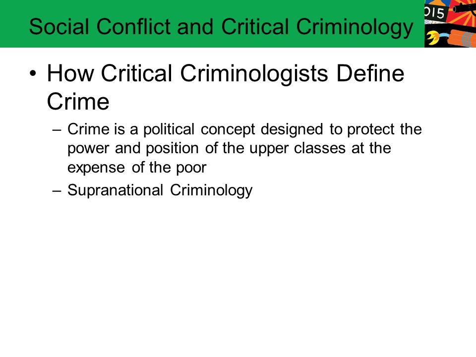 define criminology