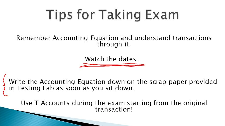 Accounting Equation Practice Tests - Tessshebaylo