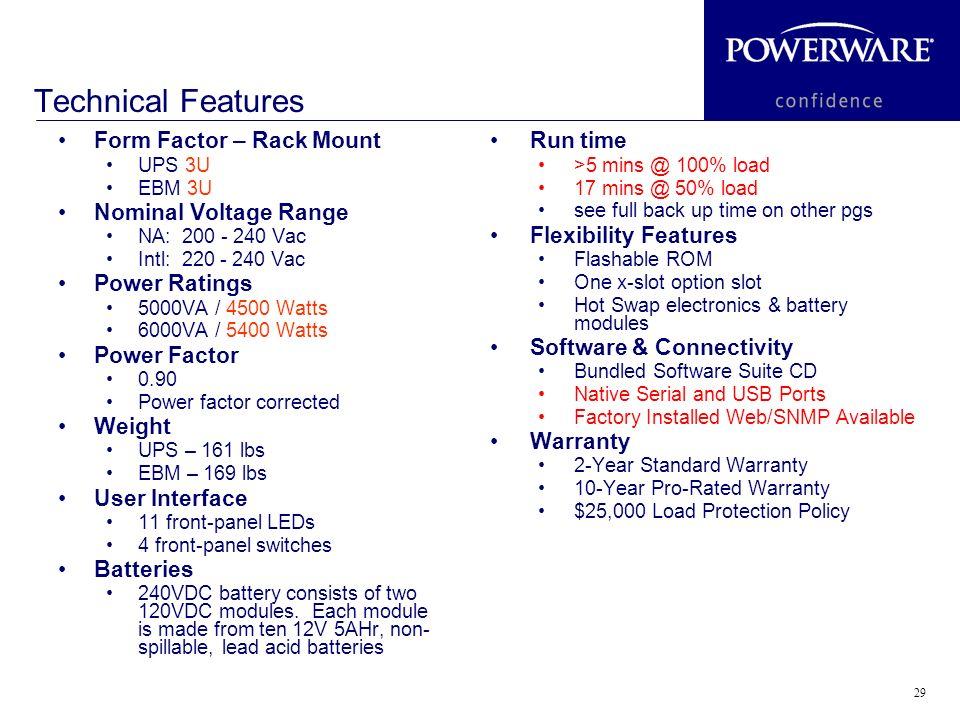 PW & 6000 VA UPS PW & 6000 VA UPS The continuation of Powerware's ...