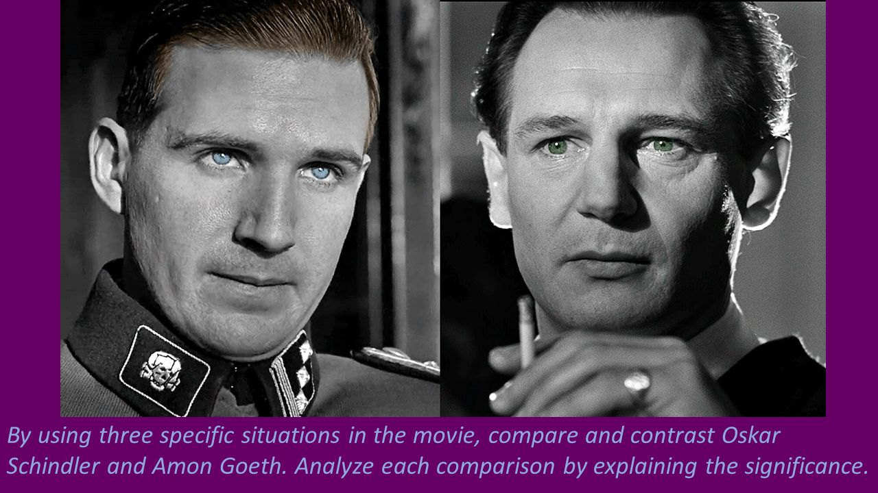 an analysis of the opening sequences of schindlers list a film directed by steven spielberg Mature film, steven spielberg has finally directed by spielberg screenplay, steven steven spielberg has finally put it all together in schindler's list.